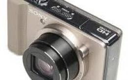 Sony Cybershot DSC-HX9 fényképező+kamera